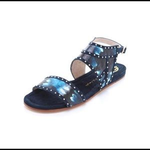 House of Harlow 1960 Abra Leather Sandals size 9.5